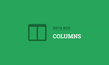 organize custom fields in columns