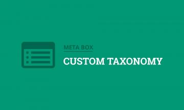 create custom taxonomies in wordpress