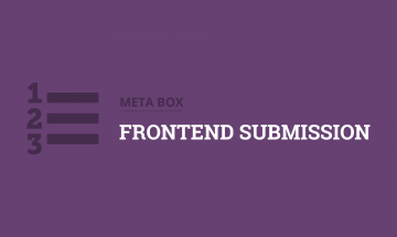 submit posts in the frontend