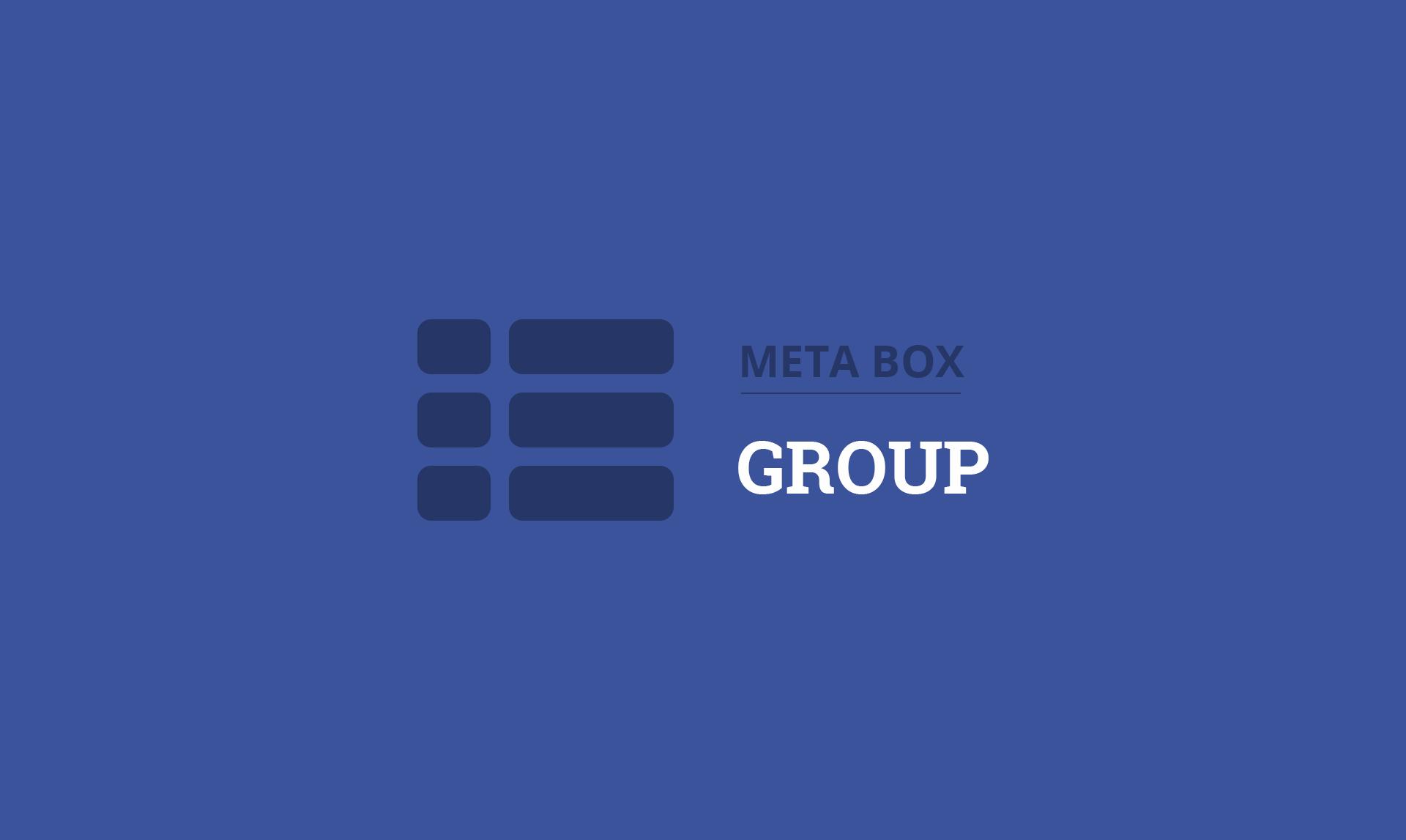 Meta Box Group