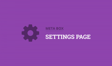 create option pages in wordpress
