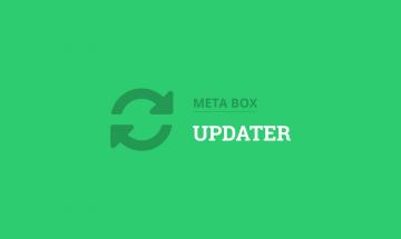 auto update for meta box plugins