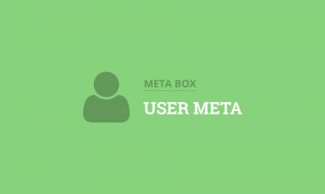 custom fields for users in WordPress